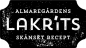 Mobile Preview: Almaregårdens Lakritz, Logo