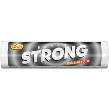 Cloetta Extra Strong Salmiak, 40 x 25g