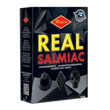 Halva Real Salmiac Box, 10 x 230g