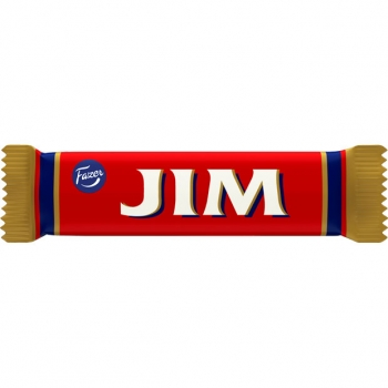 Fazer Jim filled chocolate bar 70x14g