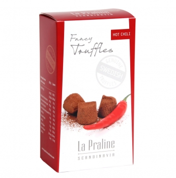 La Praline Fancy Truffles Chili, 20 x 100g
