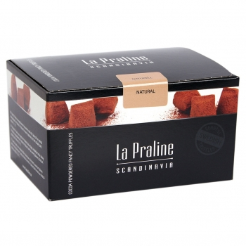 La Praline Fancy Truffles Naturell, 10 x 200g