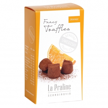 La Praline Fancy Truffles Orange, 20 x 100g