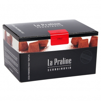 La Praline Fancy Truffles Chili, 10 x 200g
