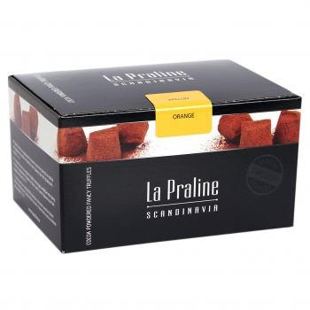 La Praline Fancy Truffles Orange, 10 x 200g