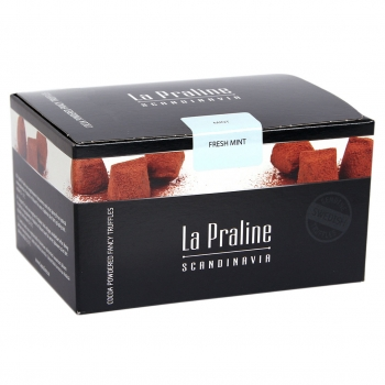 La Praline Fancy Truffles Pfefferminze, 10 x 200g