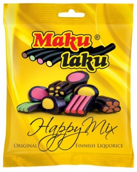 Makulaku Happy Mix Finnisches Lakritz, 28 x 160g