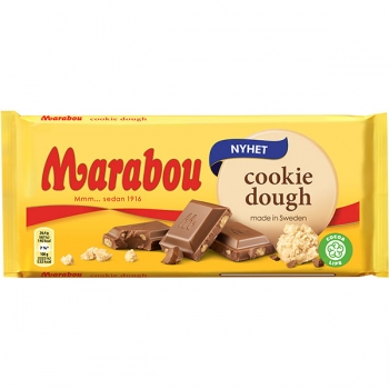 Marabou Cookie Dough, 17 x 185g