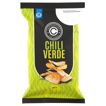 Real Snacks Chili Chips, 8 x 120g