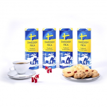 Swedish Fika Traditional Cookies Vaniljdrömmar 10 x 160g Gedeck