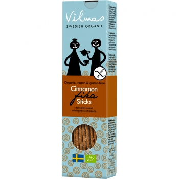Vilmas Cinnamon Sticks BIO-Knuspersticks, 10 x 120g
