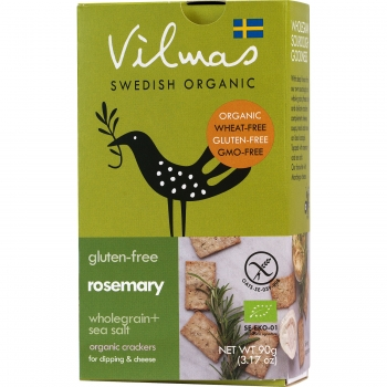 Vilmas Rosemary BIO-Cracker, 10 x 90g