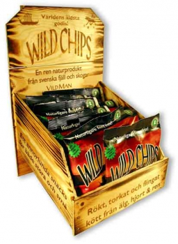 Wild Man Wild Chips, Display