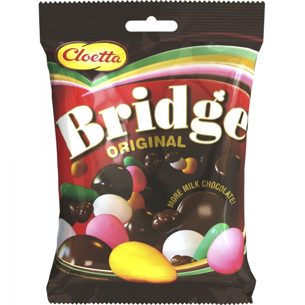 Cloetta Bridge Original, 20x115g